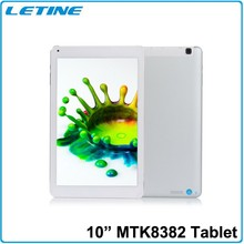 10INCH MTK8382 Quad core GPS Blutooth 1280*800 IPS screen 3G GSM tablet phone 2015 sex video 3g mobile phone tablet pc by dhl