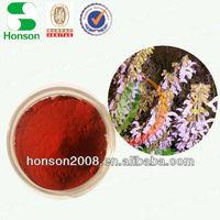 danshen extract powder salvianolic acidb 5%-15% hplc tanshinoneiia 0.2%~1.0% from plant extraction use for pharmaceutical drug