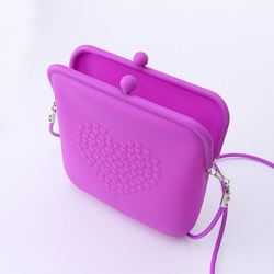 MOQ low price rubber silicone handbag
