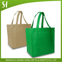 2015 simple reusable eco shopping bag/wholesale custom non woven bag