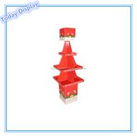 christmas tree cardboard floor display stand party display racks