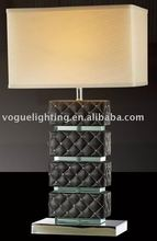 Table lamp,leather lamp,hotel lighting(PD1255-1)
