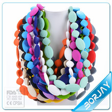 Safety Silicone Chunky Bead Necklace