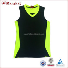 In stock new basketball tops, high quality basketball uniform design for men