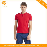 Boys Wholesale Red Blank Polo T Shirts