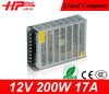 Switching Power Supply factory price 12volt smps single output constant voltage 200 watt power supply