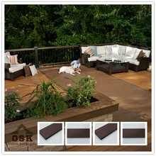 2012 HOT SALE China wpc board composite flooring decking material with great price