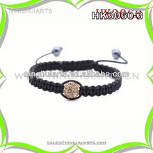 leather sports bracelet wholesale stone clay