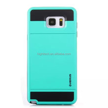 Verus Armor Slide Credit Card Case for Samsung Galaxy Note5 Slot Wallet ID Shock Proof Skin Hard Cover Shell