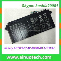 rechargeable laptop battery for ACER AP12F3J 7.4V 4680MAH PN: AP12F3J notebook lithium battery