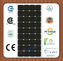 hot sale high efficiency140w monocrystalline solar pv panel price painel solar with TUV UL