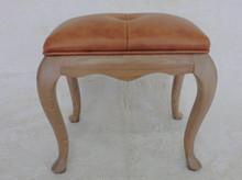 TDH-515 QVB JIANDE TONGDA American style stool squar footstool antique footstool