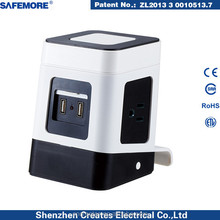 SAFEMORE Spring usa plug home energy save socket manufacture export USA