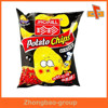 Snack packaging custom printed potato chip foil bags with heat sealed top