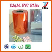 ISO and SGS sheet plastic rolls decorative pvc membrane