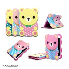 Cute Cover Case Cartoon Bear Kids Tablet Protective Cases