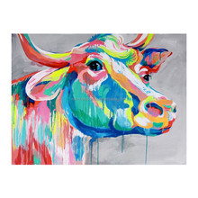 Wholesale Cow Animal Decor Painting For Living Room
