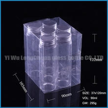 wholesale 6pcs arabic wedding gifts bottle with silver cap