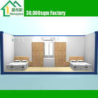 20ft Portable prefab Flatpack Container House/ Home/ Office/ Dormitory