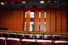 China movable sound proof partition wall for auditorium