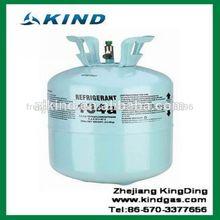 99.9% pure, réfrigérant r134a gas13.6kg/30 lbs jetables. cylindre