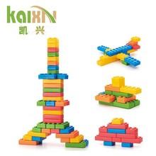 De juguete de plástico bloque de construcción de ladrillos