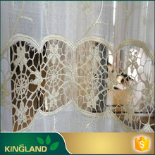 Wholesale alibaba KINGLAND Customize lace border curtains for home