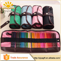 wholesale 36 or 48 position clear customizable folding unbranded pencil case for school