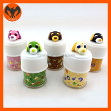 3D mini cute pet animal pvc figurine toys for kids