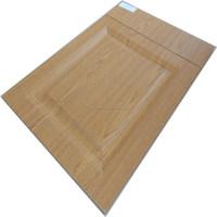 used wooden pvc vacuum MDF kitchen cabinet door