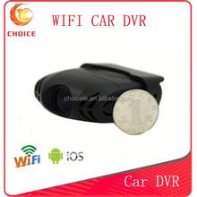 2015 Newest wifi full hd mini wireless car dvr black box W7