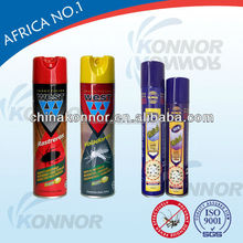 killing mosquitoes insecticicide aerosol spray