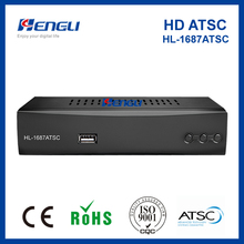 Hot-selling and high quality digital conversion box 1080P/usb atsc tv tuner
