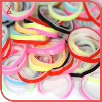WT15 explosion models popular in Europe and America DIY braided multicolor rubber band headdress
