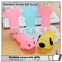 Top quality wholesale custom cute animal shape gel mouse pad