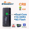 Cloudnetgo Bluetooth4.0 RK3066 Dual Core Andriod TV Box 1GB RAM 8GB ROM Mini PC Dongle HDMI XBMC WIFI Support Android TV Stick