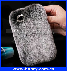 Luxury Fur Hard Case Mobile Phone Case Cover For Iphone6