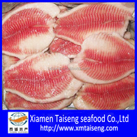 Shallow Skinless Boneless Frozen Tilapia Fish Fillet Products supplied