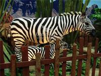 Outdoor animatronic animal for art decoration