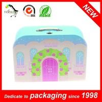 Mini Size Custom Suitcase Shaped Gift Box Mini Suitcase Gift Box