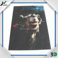 2014 Factory sell animal poster