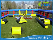 air paintball field for sale /paintball court inflatables/ air paintball arena
