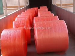 Red/ White Air Bubble Bag / Custom Bubble Rolls