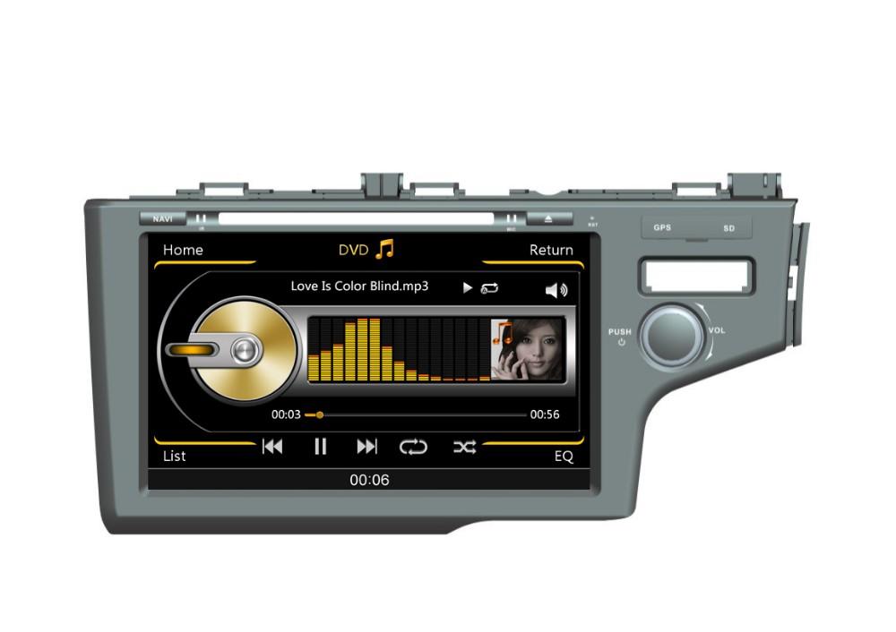 Car Dvd Gps For Honda Jazz Car Radio 2015 Accessories With ...