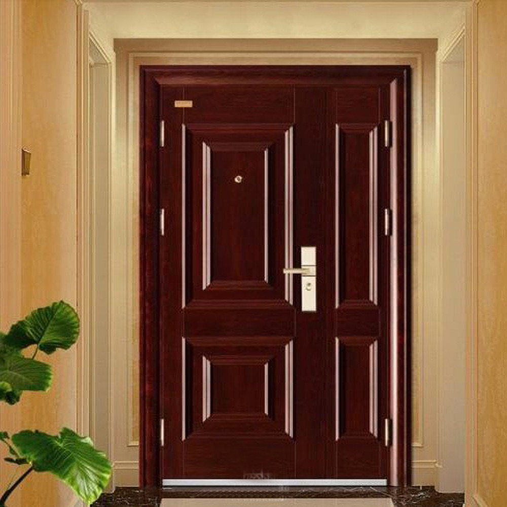 wholesale cheap exterior security steel door house front door design