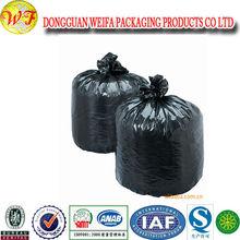 Ldpe Black Heave Duty Plastic Drawstring Garbage Bag