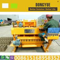 china manufacturer QTM6-25 brick making equipment line