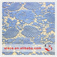 charming polyester lace fabric colorful lace embroidery cord lace fabric