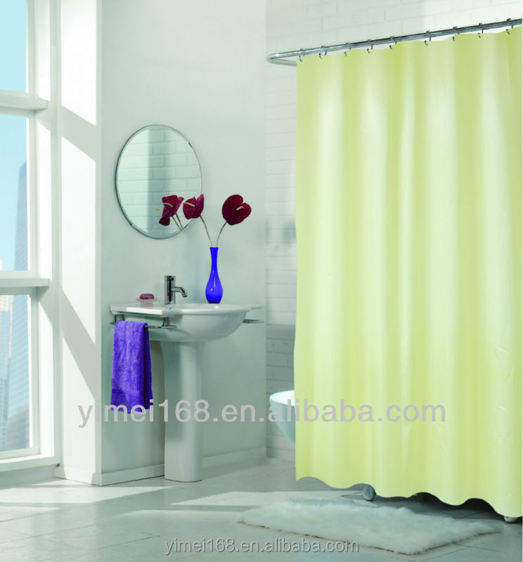 ... Shower Curtain - Buy Solid Color Peva Shower Curtain,Classy Shower