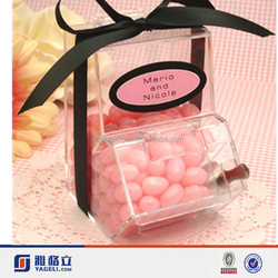 Yageli decorative box for candy/acrylic candy gift box/box candy
